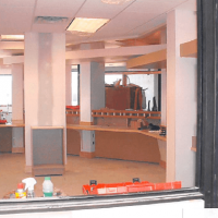 Minster Dental building construction interior